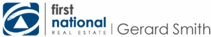 Logo - First National Real Estate Gerard Smith