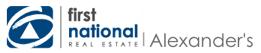 First National Real Estate Alexander's