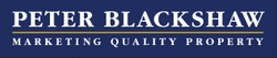 Logo - Peter Blackshaw Real Estate Queanbeyan & Jerrabomberra