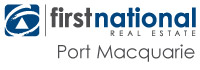 Logo - First National Port Macquarie