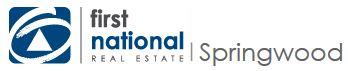 Logo - First National Real Estate Springwood