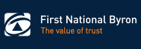 Logo - First National Byron