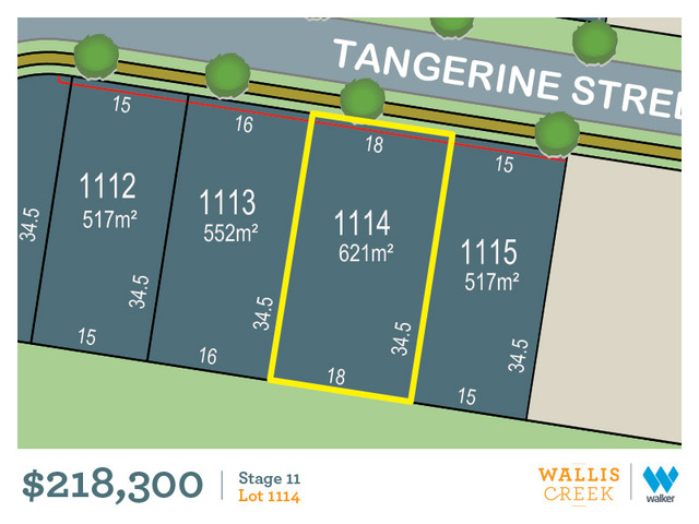 Lot 1114 Tangerine Street, Gillieston Heights NSW 2321
