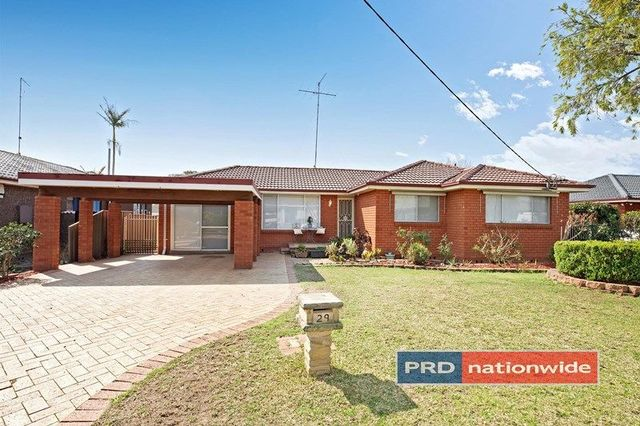 29 Kilkenny Road, South Penrith NSW 2750