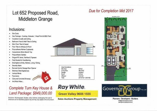 (no street name provided), Middleton Grange NSW 2171