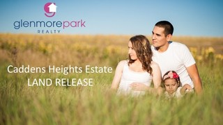 Stage 1 Caddens Heights Estate