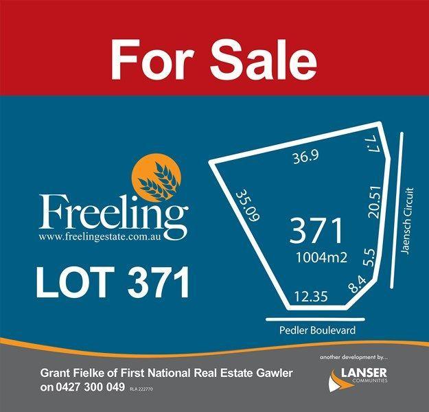 Lot 371 Pedler Boulevard, Freeling SA 5372