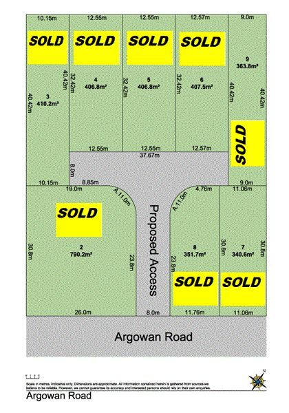 Lot 4,5,6,7,8 Argowan Rd, NSW 2762