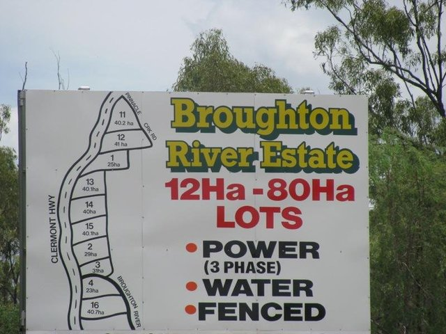 Gregory Development Road, Broughton QLD 4820