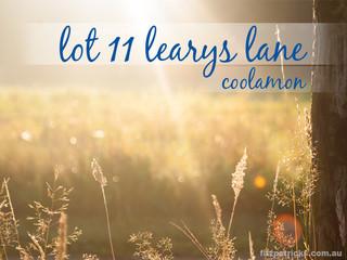 Lot 11 Learys Lane