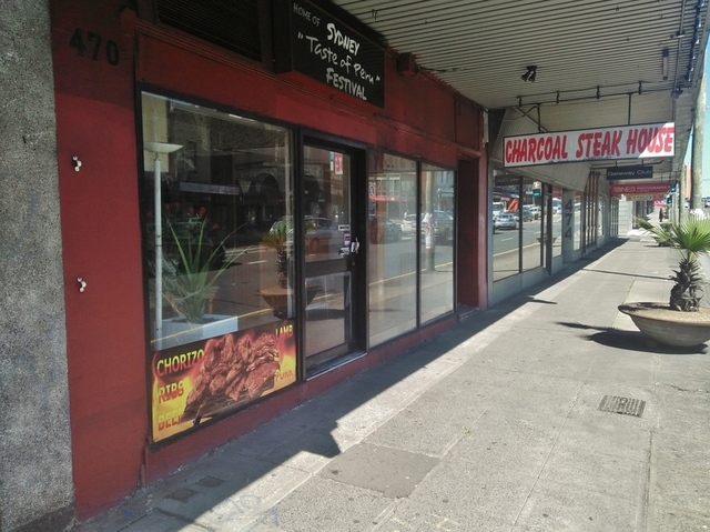 Ground 470 Parramatta Road, Petersham NSW 2049