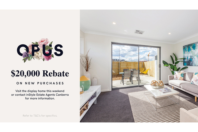 OPUS - Enviably located modern two-bedroom townhome, Coombs ACT 2611
