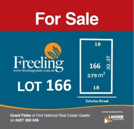 Lot 166 Schulze Street, Freeling SA 5372