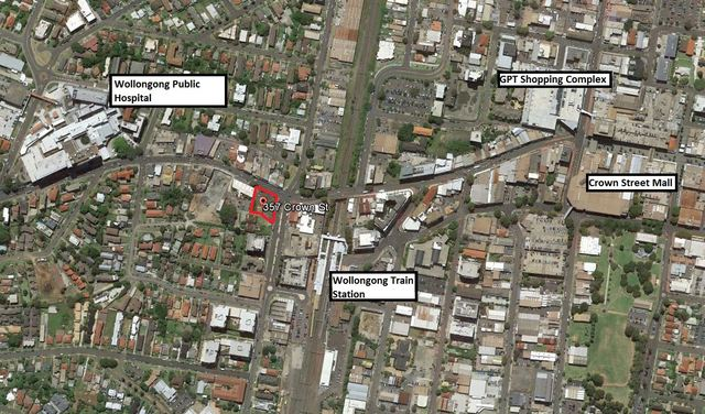 357 Crown Street Wollongong NSW 2500 Commercial Property For