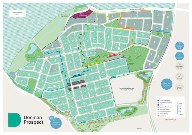 Denman Prospect - Block 11 Section 61 - Ridgeline Park Vista, Denman Prospect ACT 2611