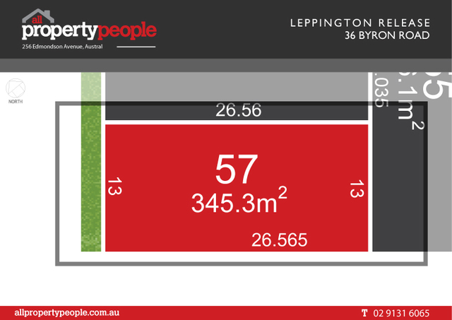 Lot 57/36 Byron Road, Leppington NSW 2179