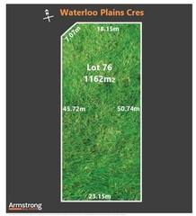 Lot 76/null Waterloo Plains Crescent
