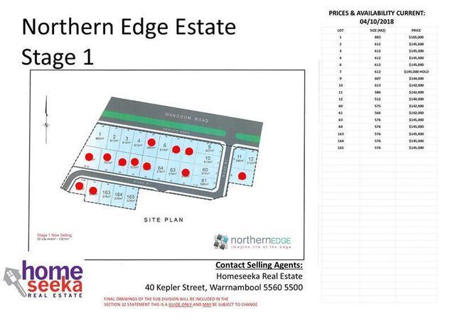 Northern Edge Estate, Warrnambool VIC 3280