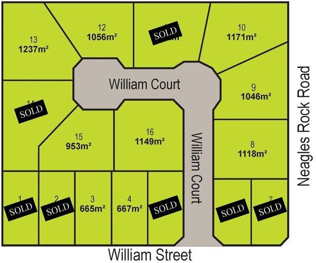 "Lots 3,4, 8-16 ""William Court"", William Street, Clare SA 5453"