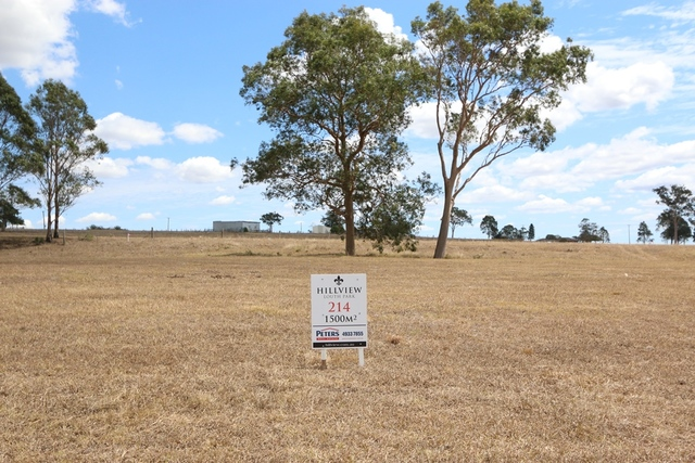 Lot 214 Hillview, Louth Park NSW 2320