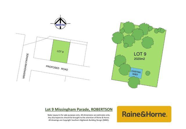 Lot 9, 1-3 Missingham Parade, Robertson NSW 2577