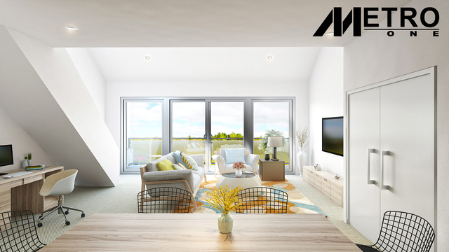 Metro One - One bedroom with a study attic apartment, ACT 2912