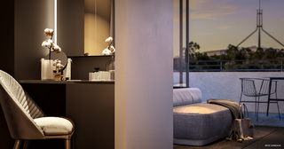 Bespoke two- bedroom apartments Forrest ACT 2603