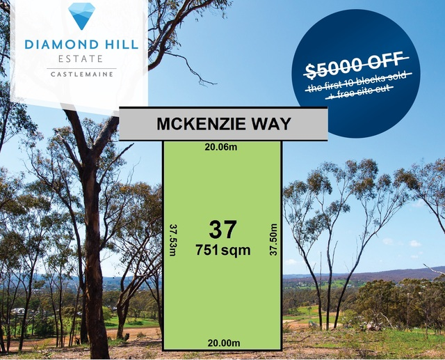 Lot 37 McKenzie Way, Mckenzie Hill VIC 3451