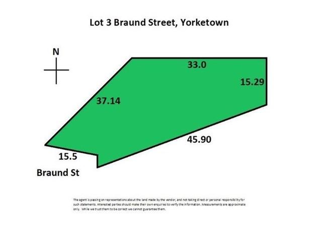 Lot 3 Braund Street, Yorketown SA 5576