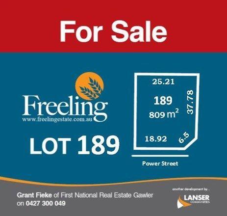 Lot 189 Power Street, Freeling SA 5372