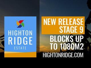Stage 9A Highton Ridge Estate