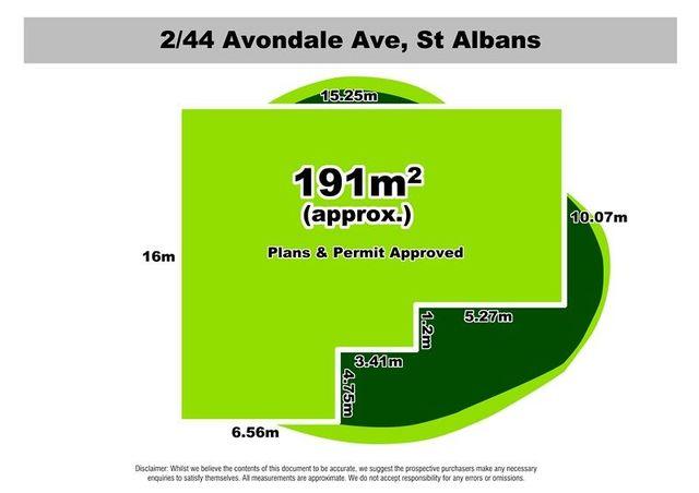 2/44 Avondale Avenue, VIC 3021