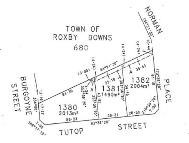 Lot 1380 Tutop Street, Roxby Downs SA 5725