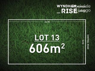 Lot 13 Wyndham Rise Estate