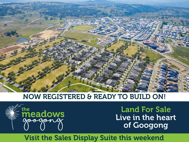 The Meadows Googong - Live in the heart of Googong, Rosa Street Googong, Googong NSW 2620