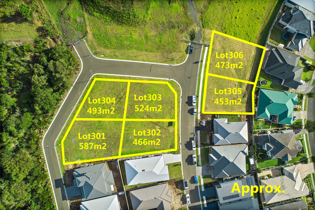 Lot 301-306 Mount Terry Estate, Albion Park NSW 2527