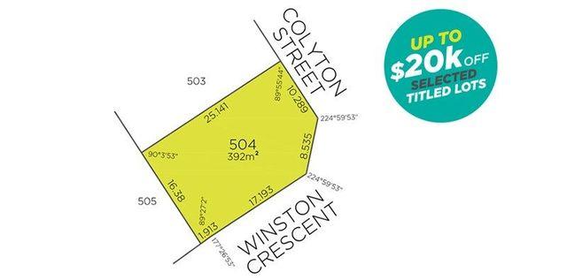 Lot 504 Colyton Street, Viveash WA 6056