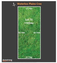 Lot 75/null Waterloo Plains Crescent
