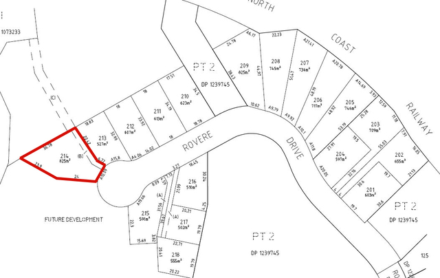Lot 214 Rovere Drive, Coffs Harbour NSW 2450