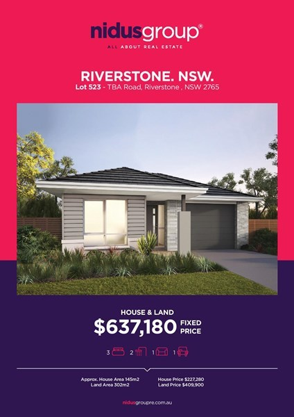 (no street name provided), Riverstone NSW 2765