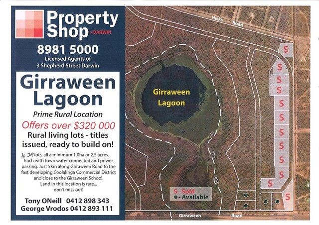 Girraween Off Girraween Road, Girraween NT 0836