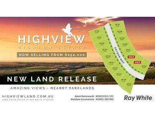 Stage 44 Highview Estate