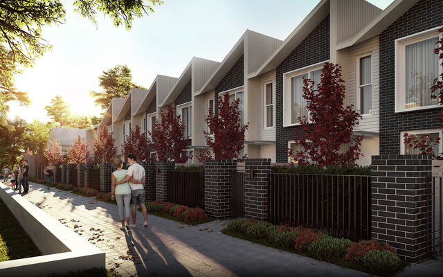 The Bradfield - Courtyard Terraces, Downer ACT 2602