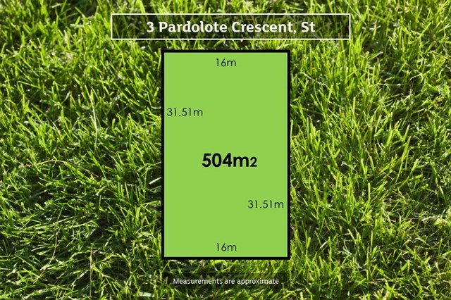 3 Pardolote Crescent, St Leonards VIC 3223