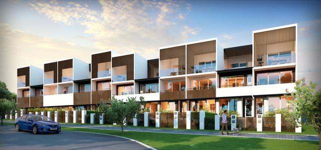 Fairview Terraces Wright - 3 bedroom over 55 sq mt of open space, ACT 2611