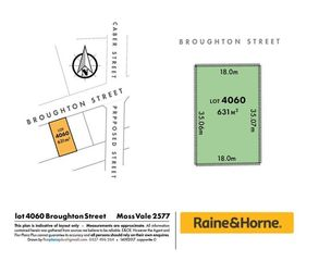Lot 4060 Broughton Street