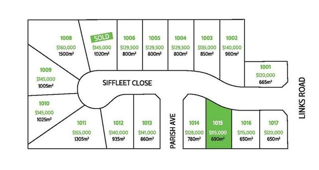 Lot 1015/Siffleet Close Links Estate, NSW 2380