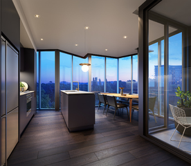 Metropol - 1 Bedroom + Study Apartment