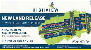 Stages 33 & 34 Highview Estate
