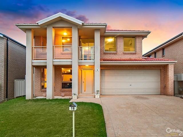18 Rosebrook Ave, Kellyville Ridge NSW 2155